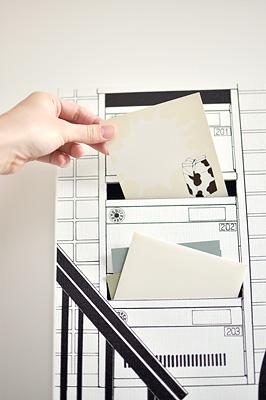 「階段下の郵便受け」  イメージ8