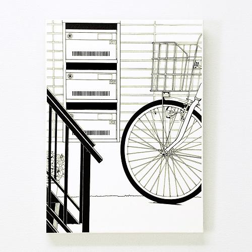「階段下の郵便受け」  イメージ1