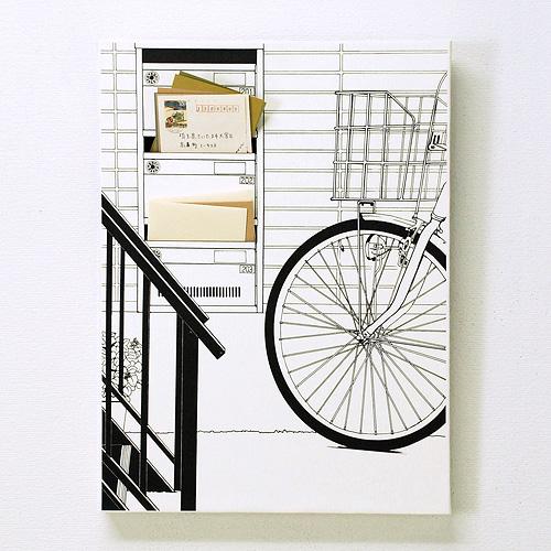 「階段下の郵便受け」  イメージ2