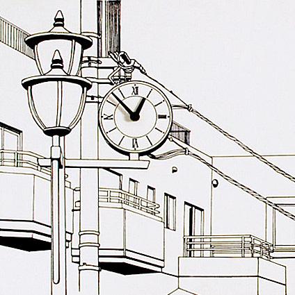 「駅前の街並み」  イメージ6