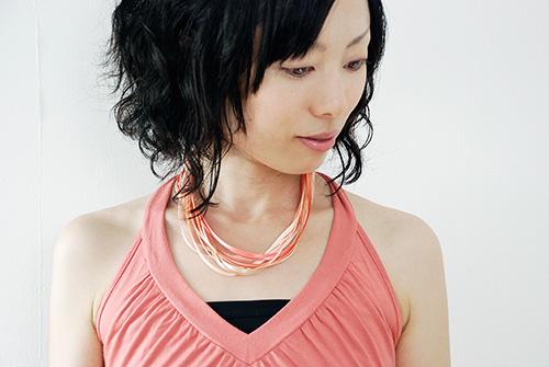 「Lines」オレンジ・ピンク  イメージ1