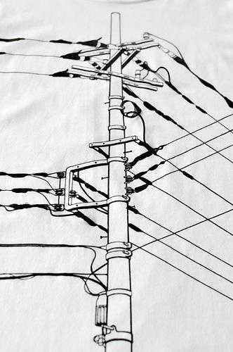 「電信柱」  イメージ2
